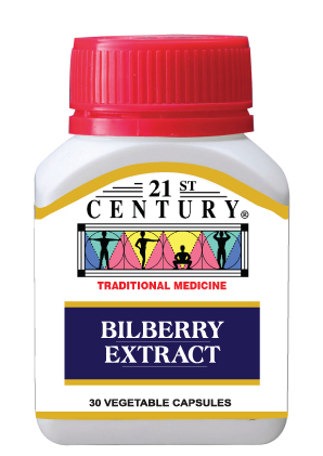 Bilberry Extract to improve night vision and daytime eye clarity