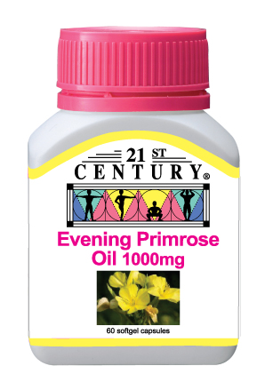 Evening Primose Oil 1000mg, 60s