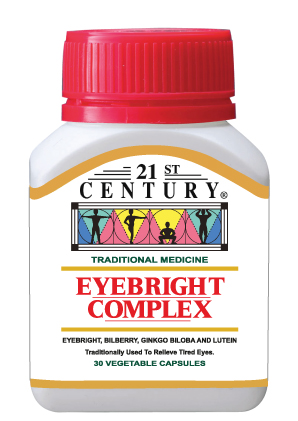 Eyebright Complex, 4 Herbal Nutrients for Good Eyesight