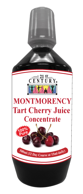 Tart Cherry Juice Concentrate for Gout relief -500ml Bottle