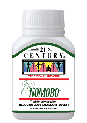 NoMoBo - No Mouth Odor & No Body Odor, herbal internal deodorant