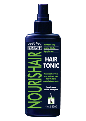 Nourishair Hair Tonic, 4 oz, to help strengthen your hair roots
