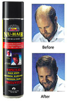 Nu Hair- Instant Spray On Hair, Aerosol Can