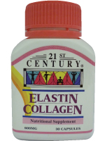 Elastin Collagen 600mg, 30 vegetarian capsules