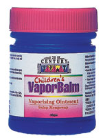 Children's Vapor Balm - No Camphor, Safe for Children