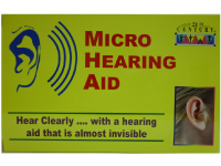 Micro Hearing Aid, smallest in the market