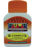 B-Complex with Lipotropics, Wheat Germ & Lecithin, 30s