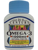 Omega 3 1000mg, Molecularly Distilled, No Toxins, Heavy Metals
