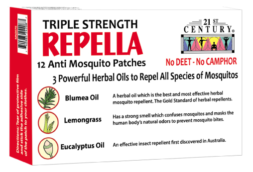 Repella Anti Dengue Anti Zika Herbal Mosquito Patches