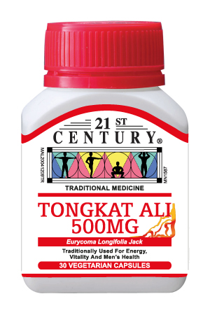 Tongkat Ali 500mg, for Energy, Vitality & Men's Health, 30's