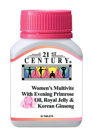 Women's Multivite with EPO, Royal Jelly & Korean Ginseng